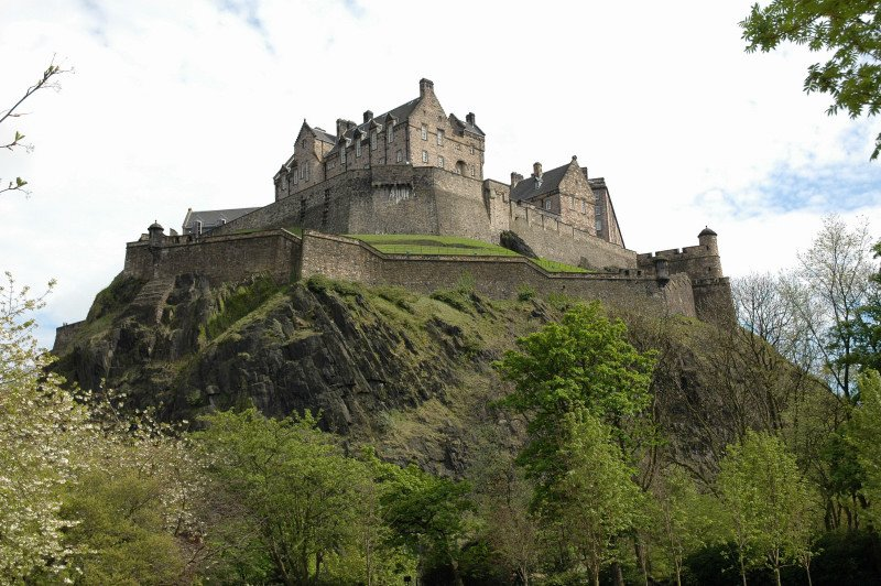 Edinburgh Castle - why not add a trip to Perthshire to your meeting in Edinburgh?