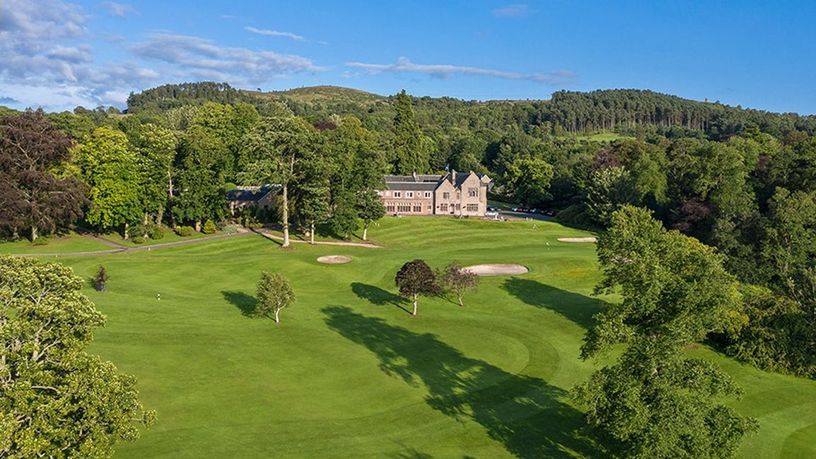 Golf course at Murrayshall Hotel - part of our 3-day Scotland gold incentive sample itinerary