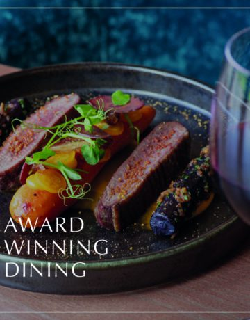 Murrayshall award winning dining